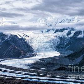 Lake Clark National Park Icefall by Jan Mulherin