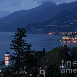 Lake Como at Night - Varenna, Bellagio, and San Giacomo by Matt Tilghman