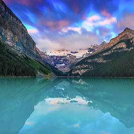 Lake Louise Morning Movement by Dan Sproul