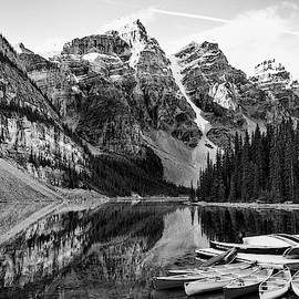 Lake Moraine 3 by Minnetta Heidbrink