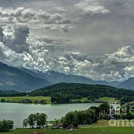 lake of Gruyeres by Michelle Meenawong