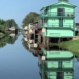 Lake Poinsett Road Houses by Bradford Martin