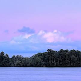 Lake Wausau July Evening Panorama