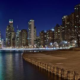 Lakefront Lights in Chicago by Chicago Skyline