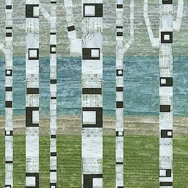 Lakeside Birches 2.0 by Michelle Calkins