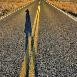 Lamar Valley Road by Britt Runyon