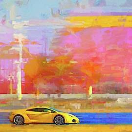 Lambo Yellow by Alice Gipson