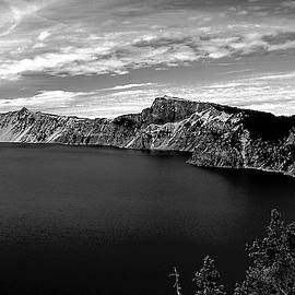 Landscape at Crater Lake by S Katz