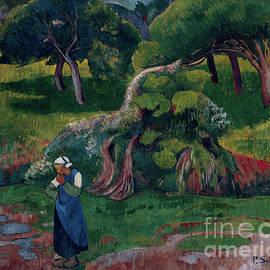 Landscape At Le Pouldu, 1890 by Paul Serusier