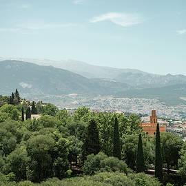 Landscape in Granada by Guillermo Lizondo