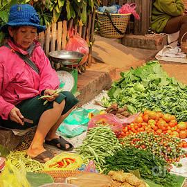 Laotian Food Vendor Six by Bob Phillips