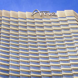 Las Vegas Architectural Lines Aria 01 by Thomas Woolworth