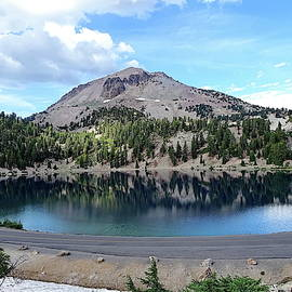 Lassen Peak and Lake Helen by Lyuba Filatova