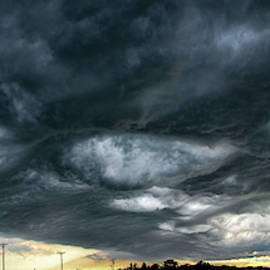 Late Afternoon Nebraska Thunderstorms 027 by Dale Kaminski