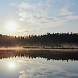 Late August morning In Seitseminen by Jouko Lehto