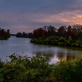 Late Twilight Lake by Randall Branham