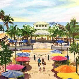 Lauderdale By the Sea Beach day by Robert Korhonen