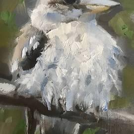 Laughing Kookaburra by Gary Bruton