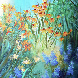 LAURA'S GARDEN One by Sharon Nelson-Bianco