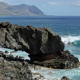 Lava Rock Arch by Larry Dove