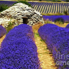 Lavender and Borie by Bob Lentz