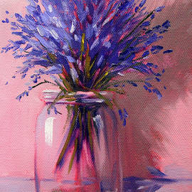 Lavender Bouquet by Nancy Merkle