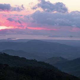 Lavender Sunset by Norma Brandsberg