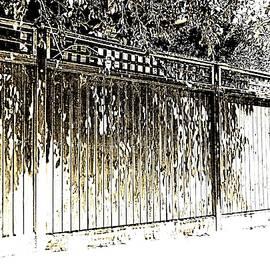 Leafy Suburban Boundary -  Symbolism by VIVA Anderson