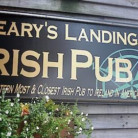 Leary's Landing Pub by John Hughes