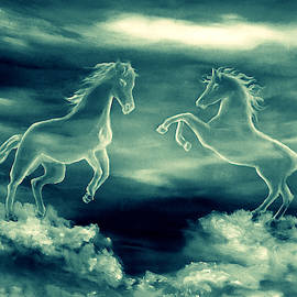 Legend Of The White Horses by Faye Anastasopoulou