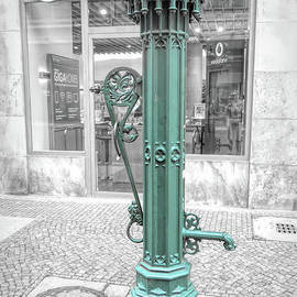 Leipzig Drinking Fountain by Elisabeth Lucas