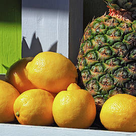 Lemons And Pineapples Together by Bill Swartwout Photography