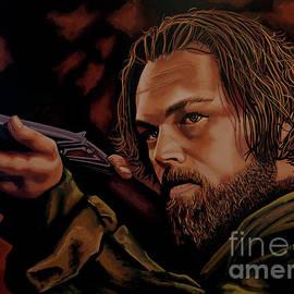 Leonardo DiCaprio Painting by Paul Meijering