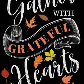 Let Us Gather With Grateful Hearts by Diann Fisher