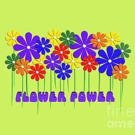 LGBT Gay Pride Retro Flower Power  by Every Persuasion