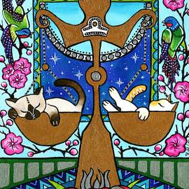 Libra Cat Zodiac by Dora Hathazi Mendes