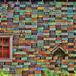 License Plate Siding # 2  by Allen Beatty