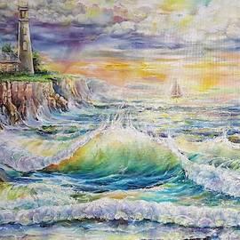 Light House. Beacon of The Storm 2 by Alla Savinkov