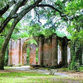 Light Within Church Ruins by Carol Groenen