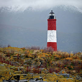 Lighthouse On Beagle Channel by Mark Duehmig