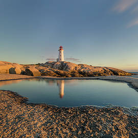 Lighthouse reflection  by Murray Rudd