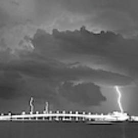 Lightning Pano by Joe Leone