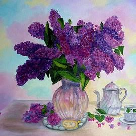Lilac Spring Tea by Julie Brugh Riffey