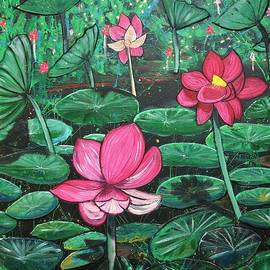 Lilies by Joan Stratton