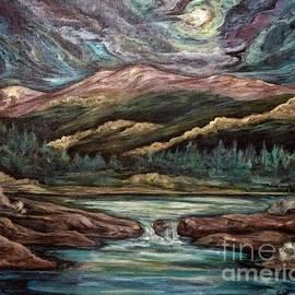 Lily Pond Colorado by Cheryl Pettigrew  by Cheryl Pettigrew