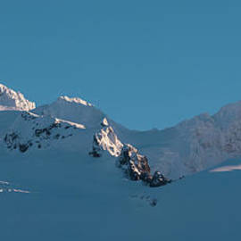 Mike Reid - Lincoln and Colefax Peaks Mount Baker Aerial