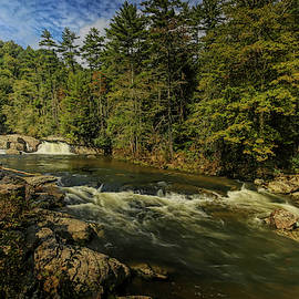 Linville Falls by Judy Vincent