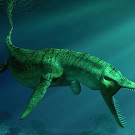 Liopleurodon by Daniel Eskridge