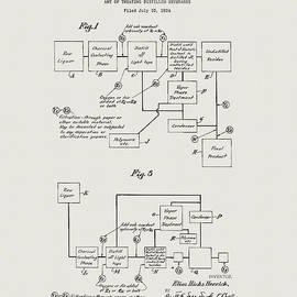 Liquor Distillery Patent  by Dan Sproul