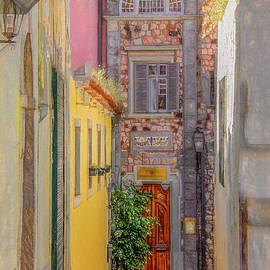 Lisbon Living, Vertical by Marcy Wielfaert